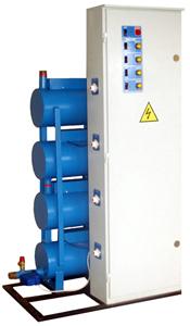 Электрические напольные котлы для отопления марки ЭКТ